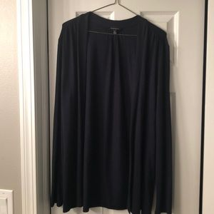 Banana Republic navy blue open cardigan size M